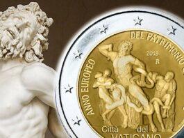 Anno europeo del Patrimonio culturale per i 2 euro del Vaticano
