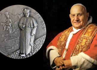 """Una medaglia per il """"ritorno a casa"""" di san Giovanni XXIII"""