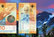 E' di nuovo elvetica la banconota più bella del mondo