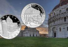 i 5 euro proof per i nove secoli del Duomo di Pisa