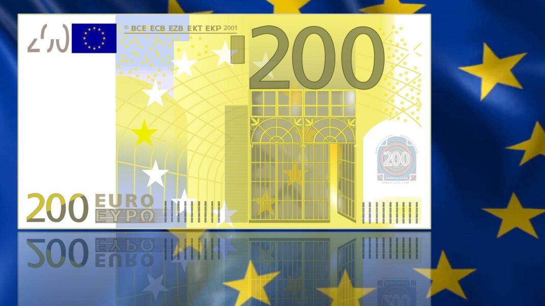I 100 e 200 euro Europa