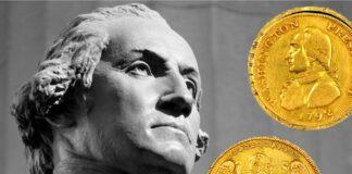 """Per la prima volta all'asta dal 1890 il contestato """"aureo"""" di George Washington"""