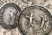 Ercole d'Este -il linguaggio delle monete: a me la vendetta