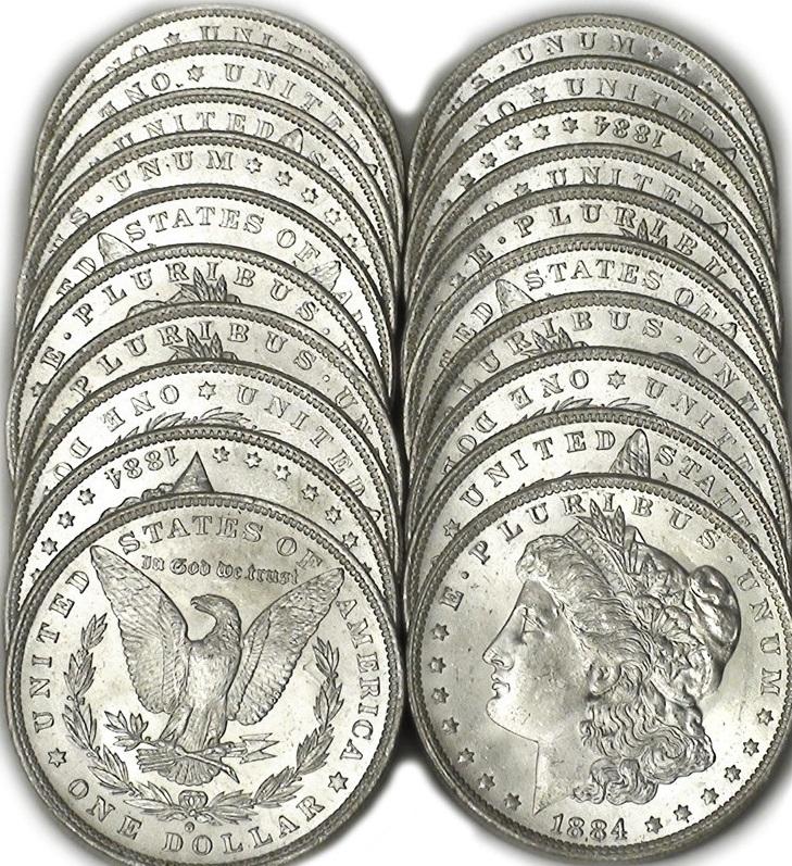 Coniato dal 1878 al 1904, e infine ancora nel 1921, il Morgan è uno dei dollari d'argento più famosi e collezionati