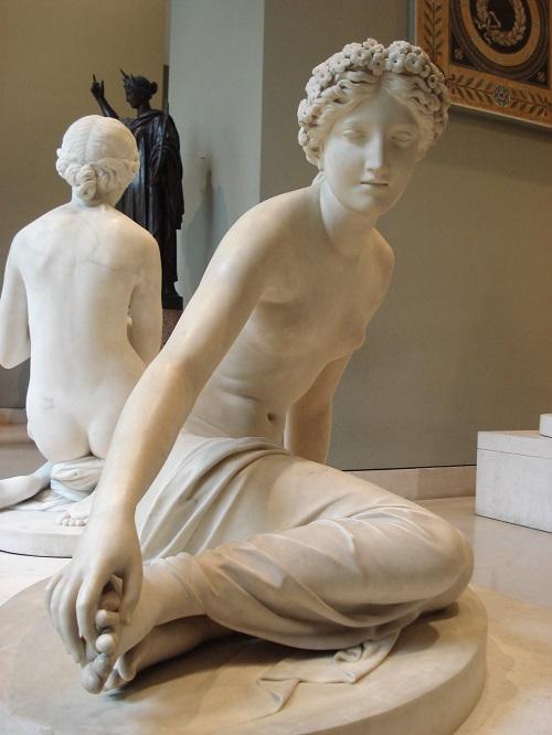 Una delle sculture di François Joseph Bosio, maestro dello stile neoclassico