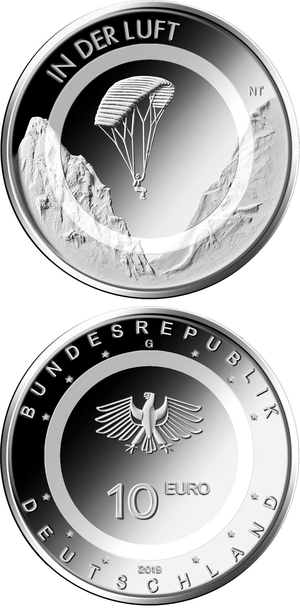 Un anello di polimero traslucido bianco caratterizzerà la nuova 10 euro ibrida di Germania