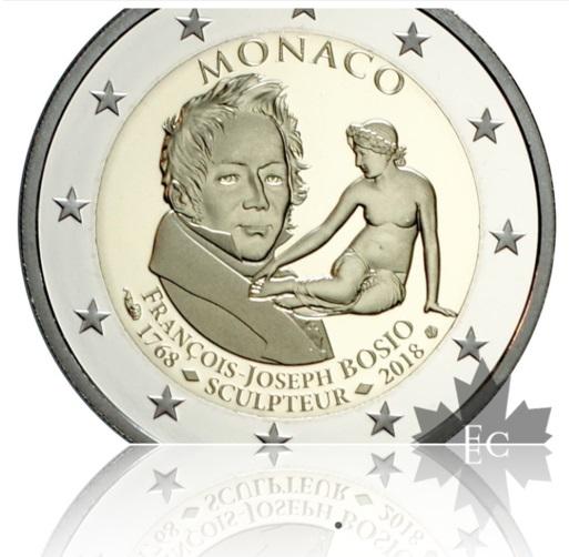 Ingrandimento della nuova moneta bimetallica monegasca, per gentile concessione di Editions Gadoury