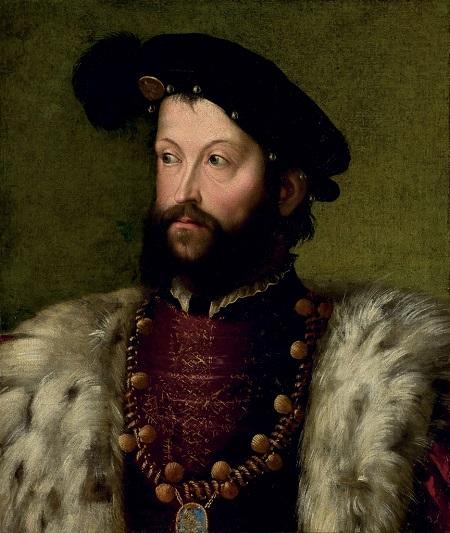 Ercole II d'Este ritratto dal pittore Nicolò dell'Abate