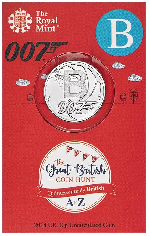 Non poteva mancare James Bond, l'agente 007, tra i miti d'Oltremanica