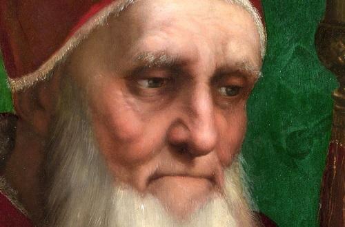 Fu Giulio II, papa guerriero e mecenate, a volere la scultura in Vaticano
