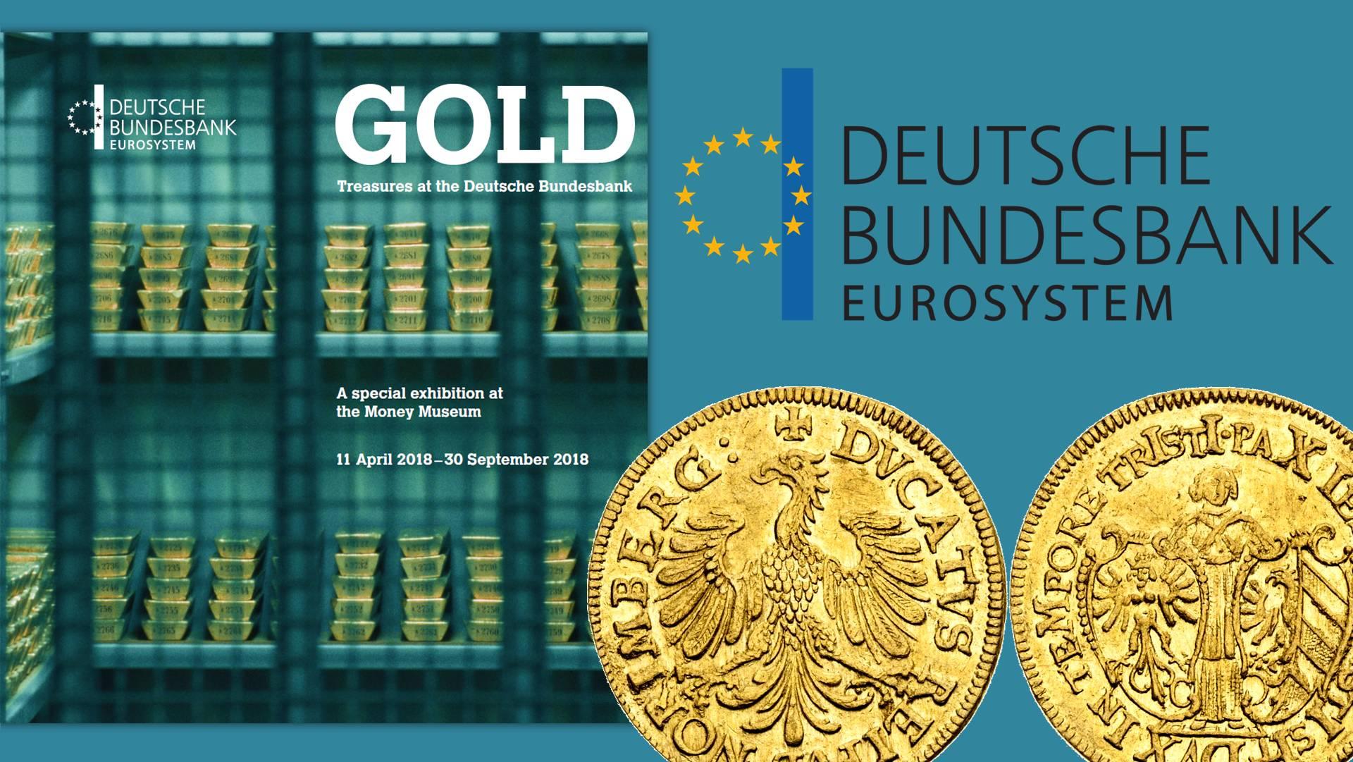 43c8a70add Lingotti e tesori numismatici della Bundesbank in mostra a Francoforte