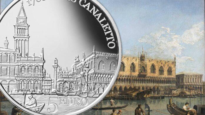 Canaletto e Caravaggio per due argenti sammarinesi