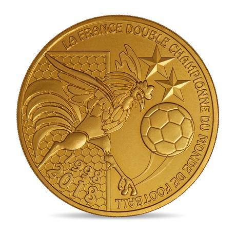 Appena cinque euro per la medaglia ufficiale che celebra la Francia campione del mondo di calcio