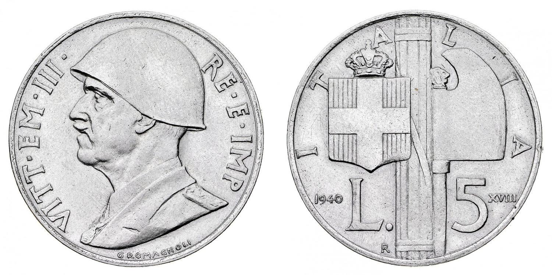 Il progetto da 5 lire passato in astsa Bolaffi nel 2017 e proveniente dalla vendita Ratto del 1956