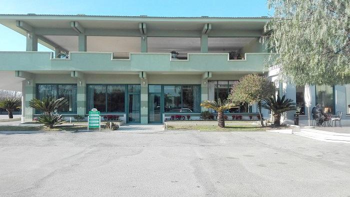 L'Hotel del Sole, presso il casello di Capua della Roma-Napoli,