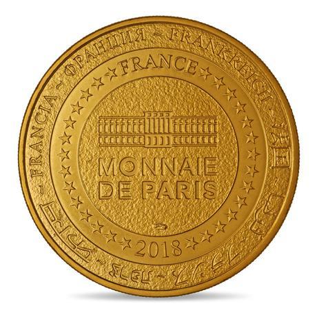 Il rovescio della medaglia, coniata in nordic gold
