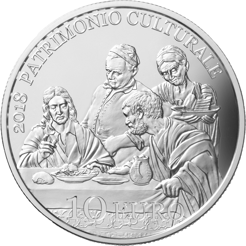 Gesù viene riconosciuto dai discepoli di Emmaus, così come lo ha dipinto il grande Caravaggio