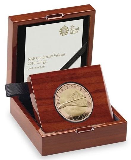 Cofanetto versione lusso per le monete coniate in oro