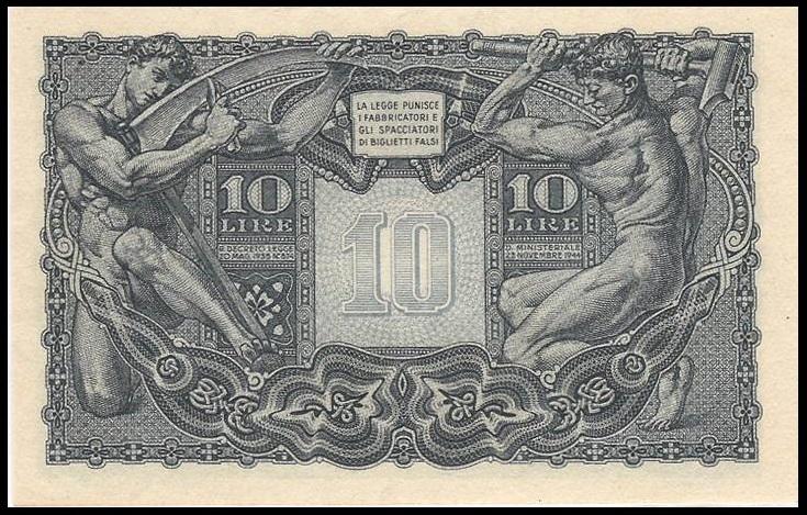 Alla fine della guerra, la bella composizione Liberty finalmente diventa un biglietto circolante