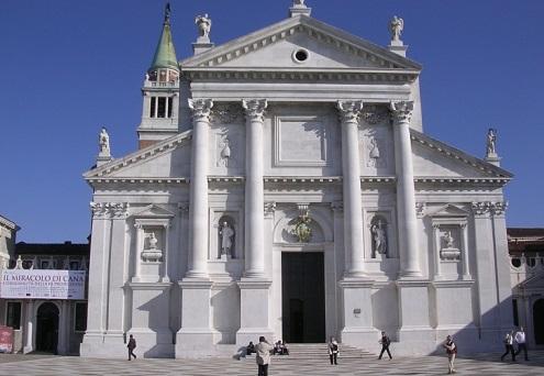 San Giorgio Maggiore: anche la sua facciata è riecheggiata nella moneta del 1690