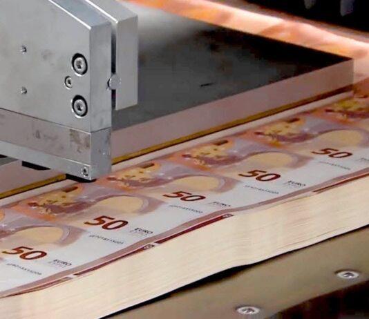 """""""Extreme printing"""": la BCE svela come nascono le nuove euro banconote"""