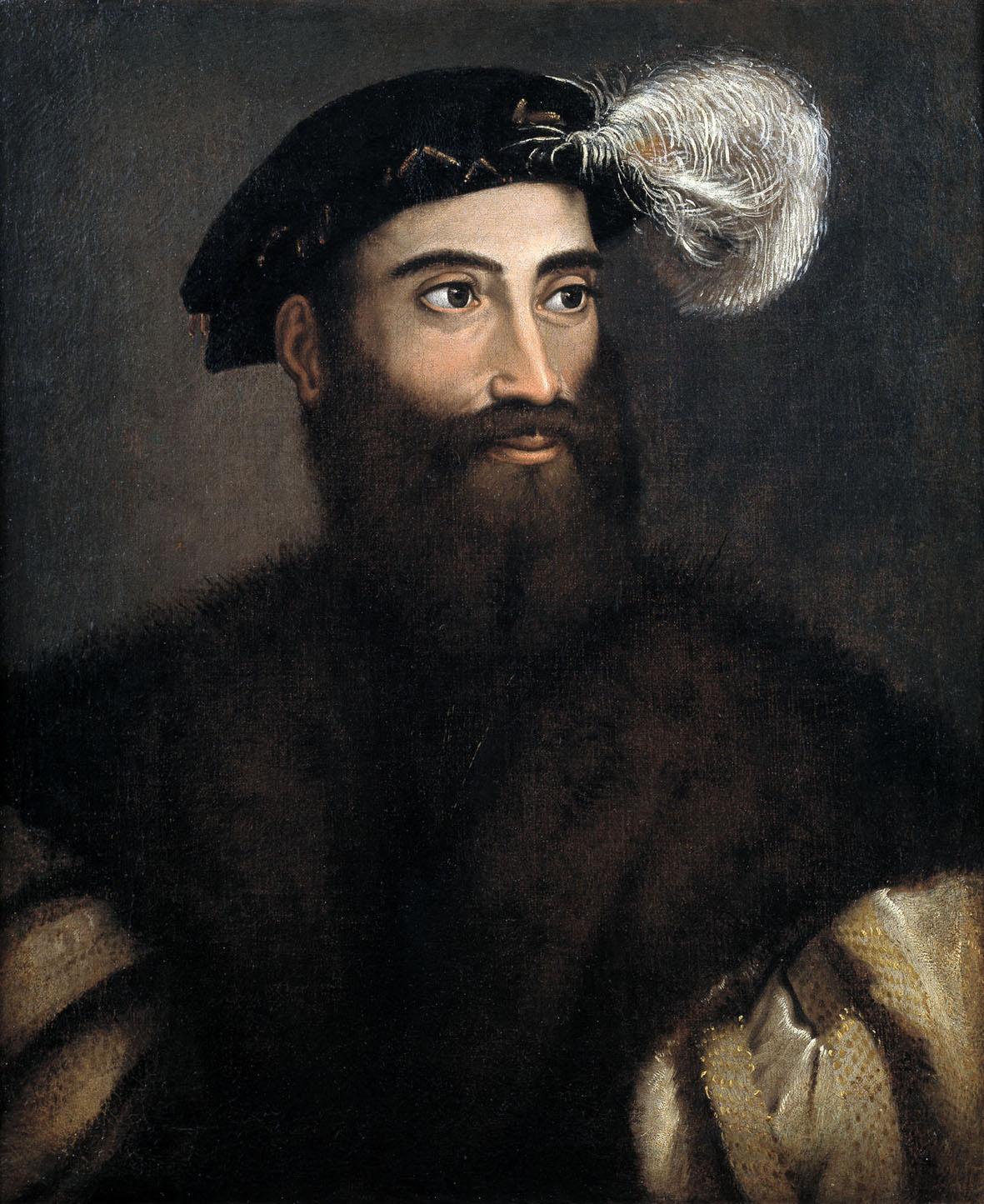 Pier Luigi Farnese (1503-1547), dal 1537 alla scomparsa primo duca di Castro, ritratto da Sebastiano dal Piombo. Più noto è un marziale ritratto del duca in armatura realizzato da Tiziano