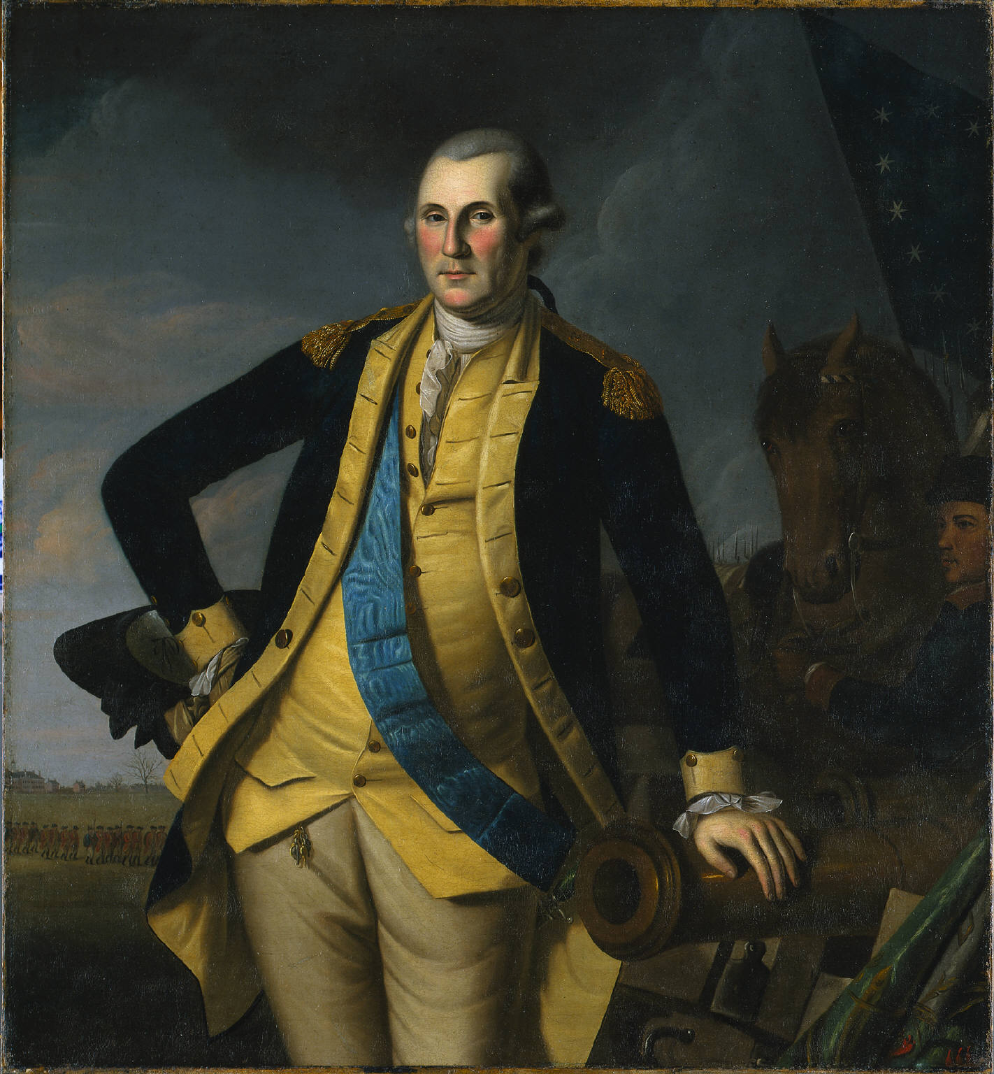 George Washington in uniforme