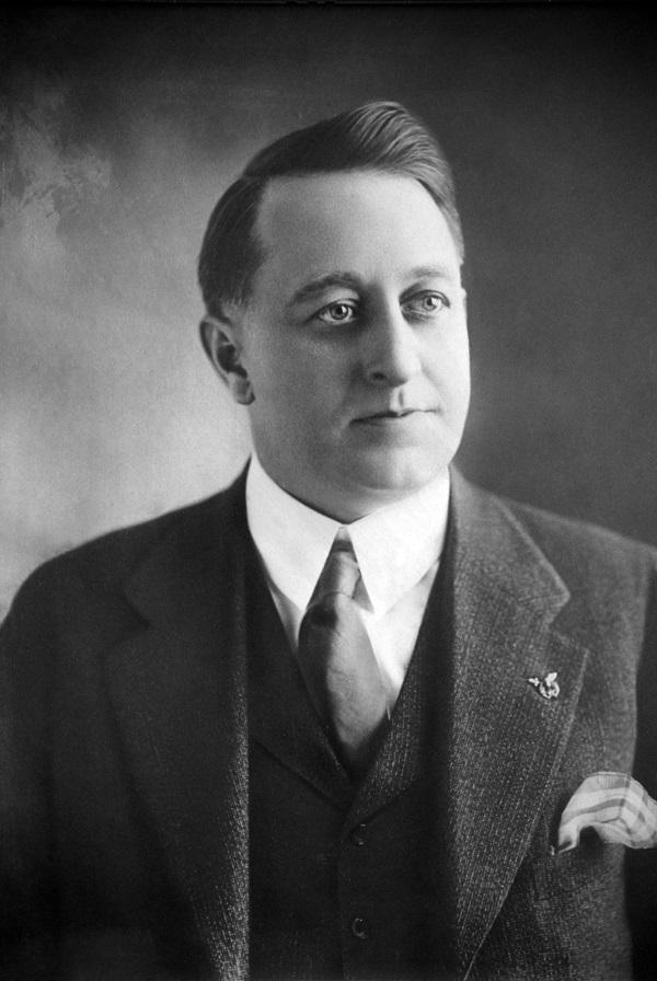 Il matematico canadese John Charles Fields, ideatore del premio che porta tuttora il suo nome