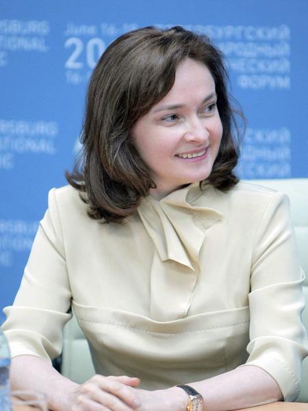 Elvira Nabiullina, governatrice della Bank of Russia, è la donna più potente della Federazione