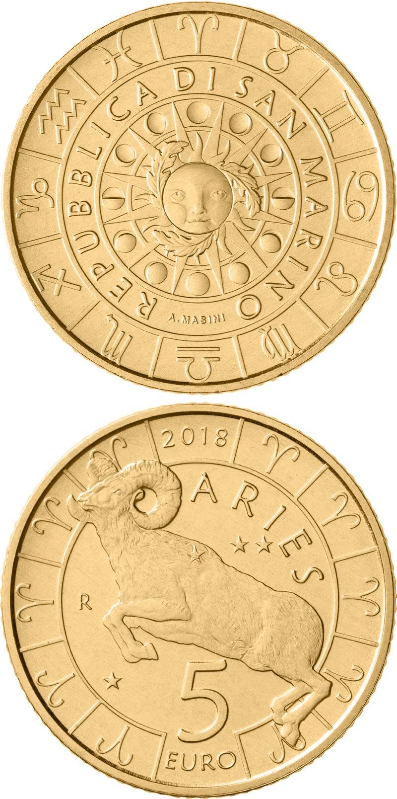 monete realizzate per San Marino dritto