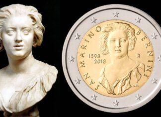 """Due euro per la """"rivincita numismatica"""" di Costanza su Bernini"""