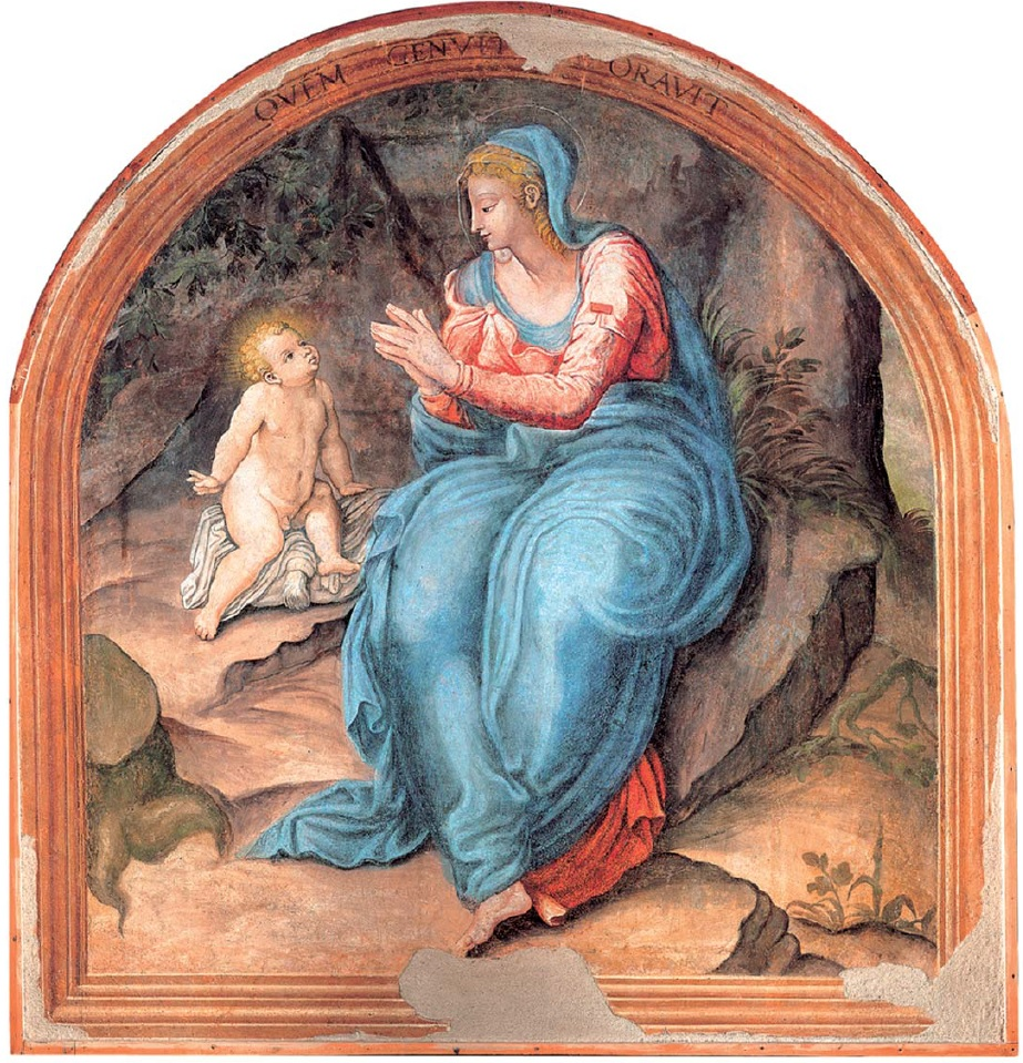 """La """"Madonna della Ghiara"""" che si venera nella città di Modena"""