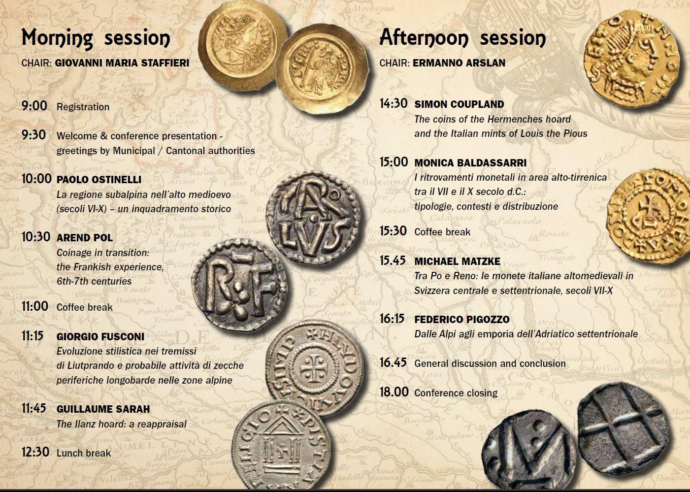 Convegno circolo numismatico ticinese 2