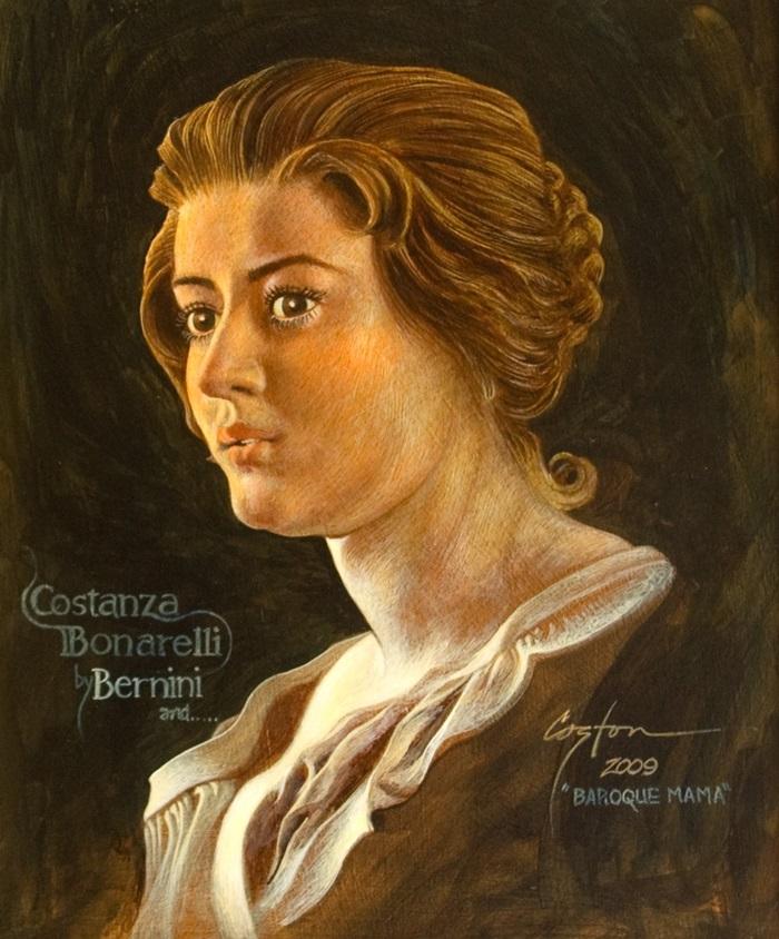 Costanza Bonarelli in un ritratto moderno
