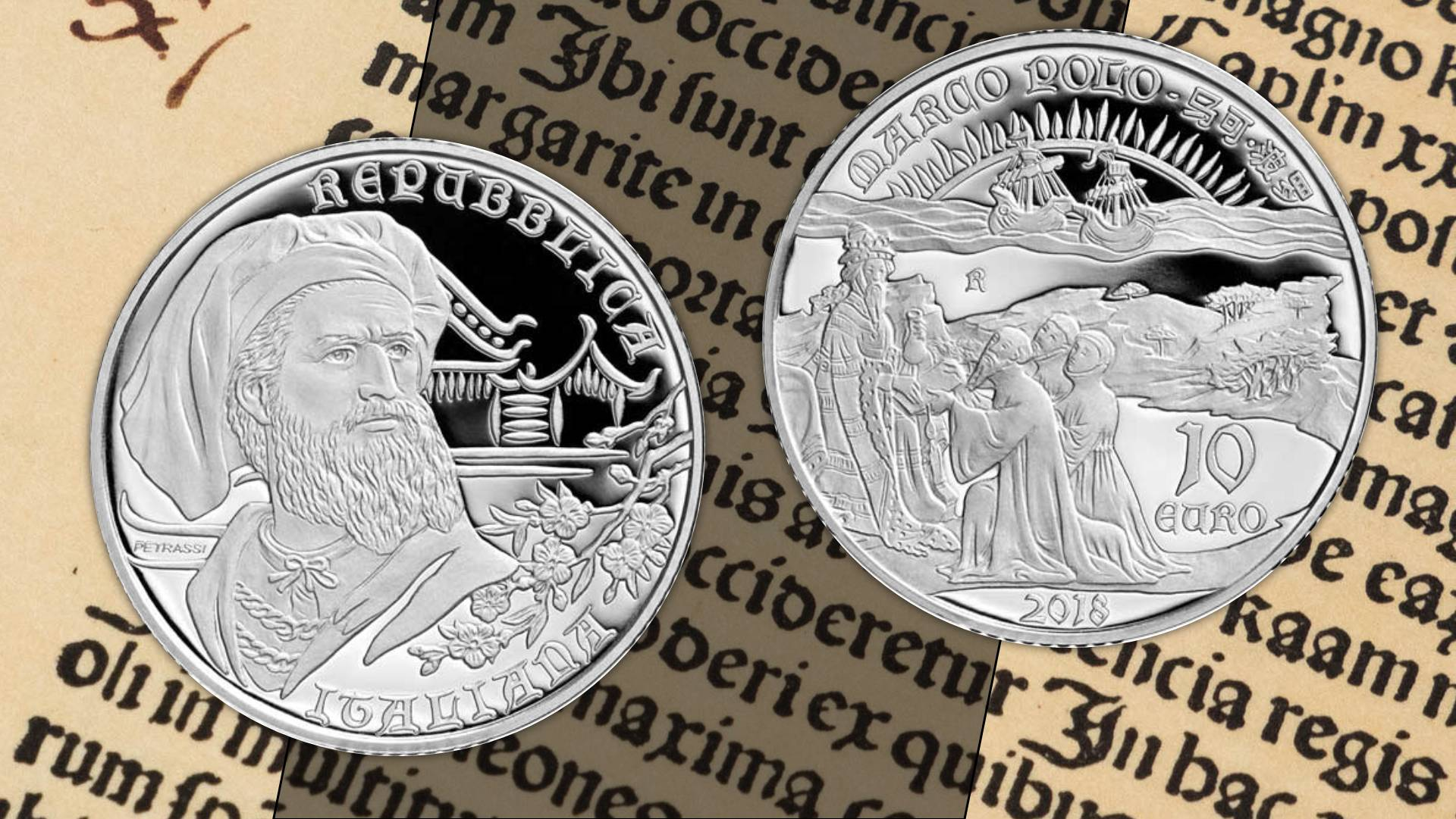 dd9f65e058 Marco Polo all'esplorazione di una nuova rotta numismatica