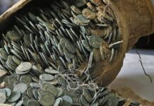 Milleduecento bronzetti romani ritornano alla luce nel Basso Reno