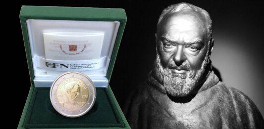 2 euro per Padre Pio