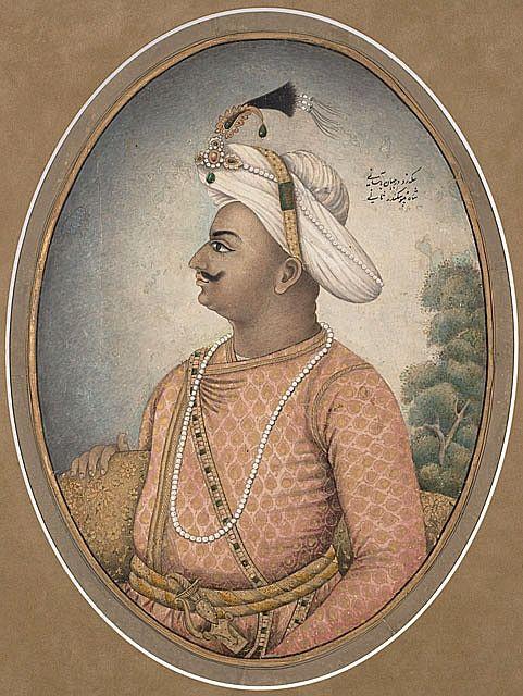Fig.1 - ritratto di Tipu Sahib