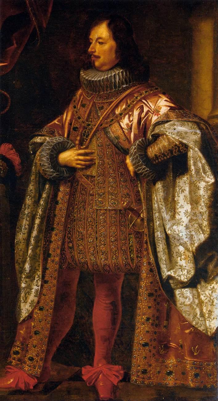 Vincenzo II Gonzaga, VII duca di Mantova, ritratto da Justus Sustermans