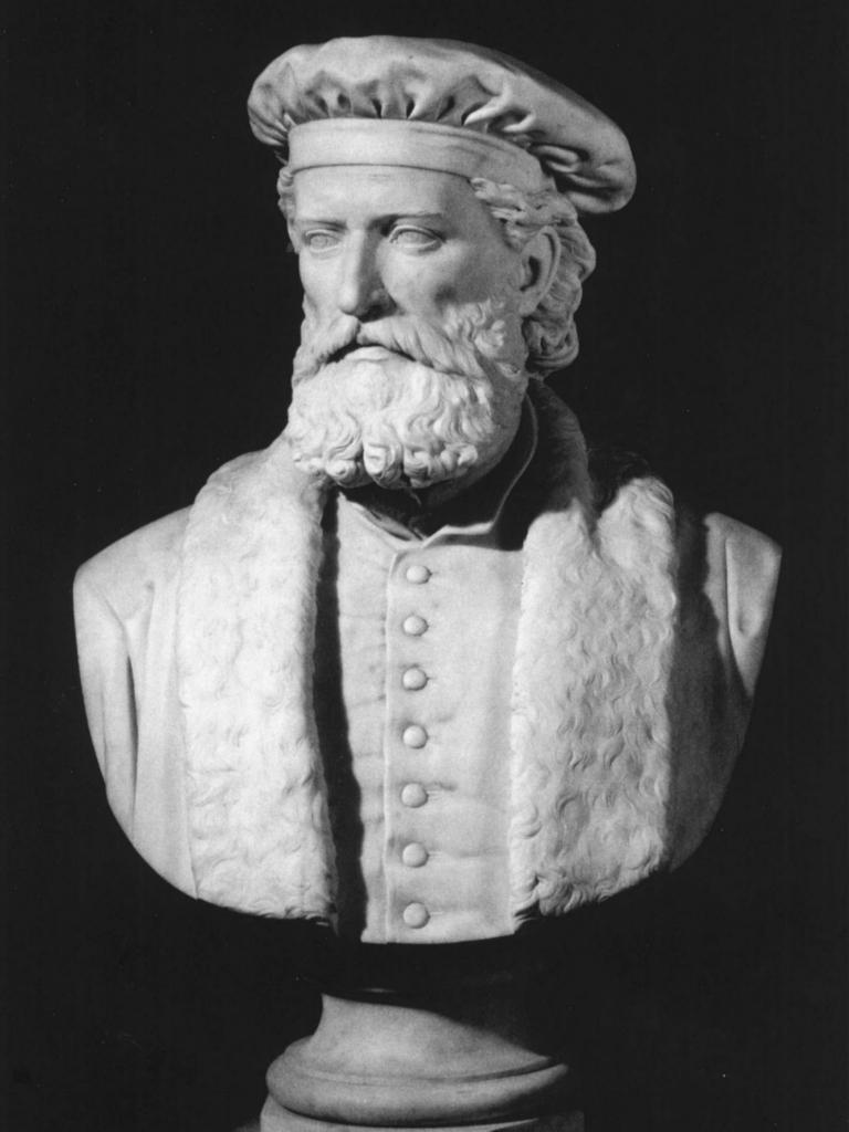 Busto di Marco Polo conservato presso l'Istituto di Lettere, Scienze ed Arti di Venezia