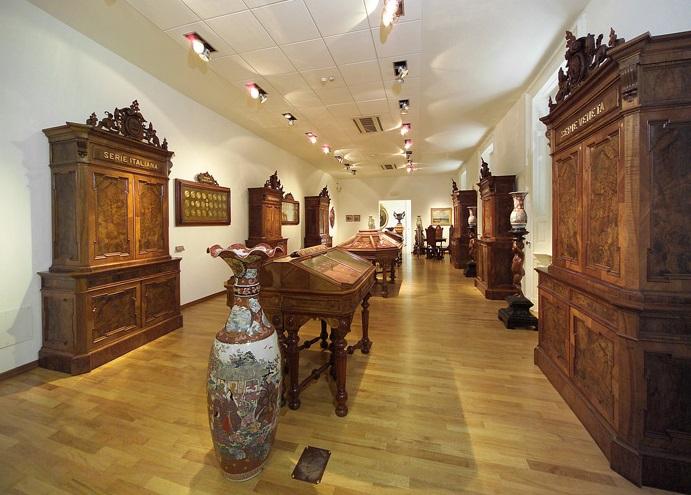 La splendida Sala del Medagliere che ospiterà l'evento