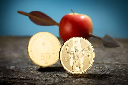 Con tanto di dardo e di mela Swissmint promuove la celebrativa per Guglielmo Tell