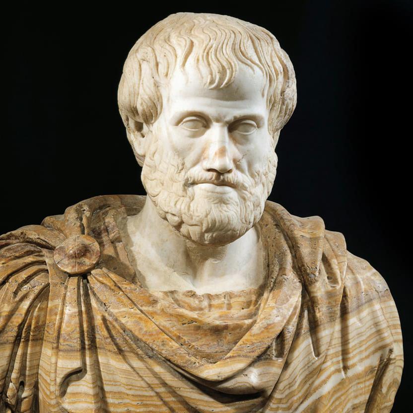 Aristotele è tra le fonti classiche che ci parlano dell'origine della moneta ad Atene