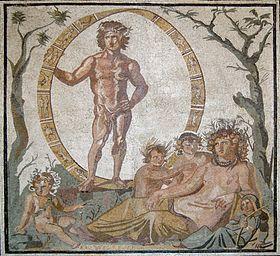 Aion dai mosaici del sito archeologico di Sentinum