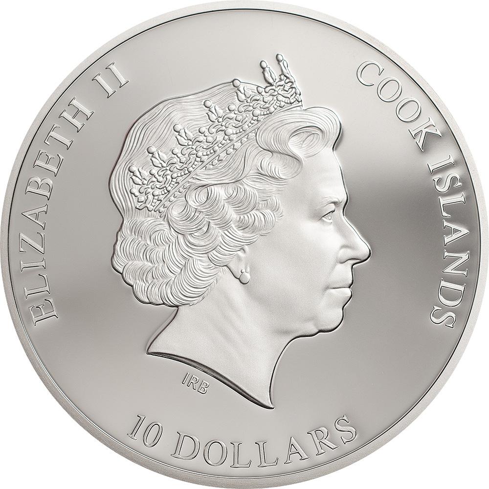 Elisabetta II campeggia sul dritto della moneta