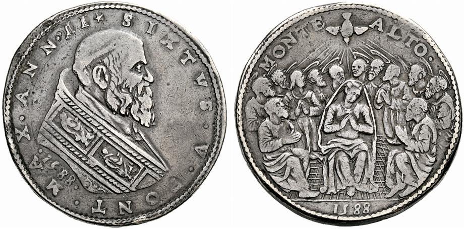 Un'illustre antenata della moneta pentecostale emessa lo scorso 4 ottobre dal Vaticano