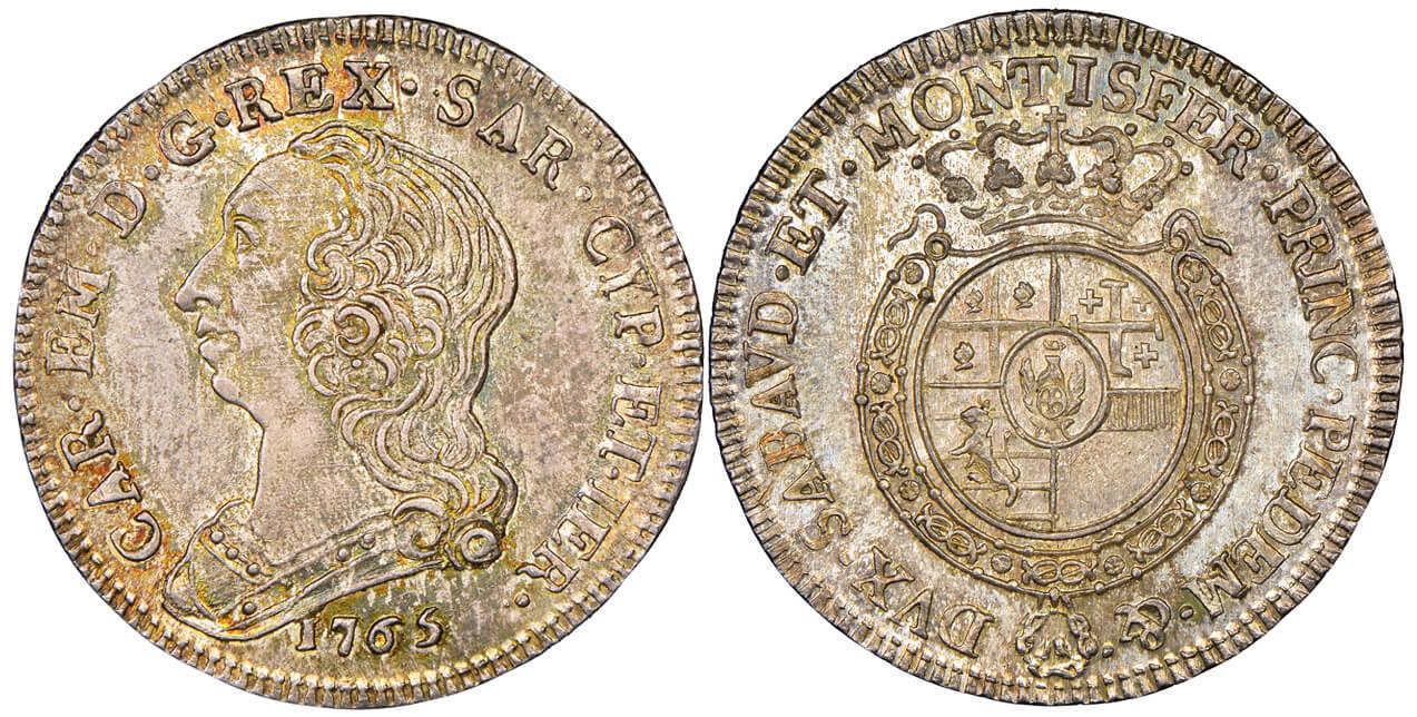 Carlo Emanuele III, 1730-1773.