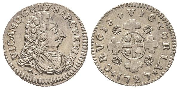 Vittorio Amedeo II., 1675-1727. Come re di Sardegna, 1724-1727.