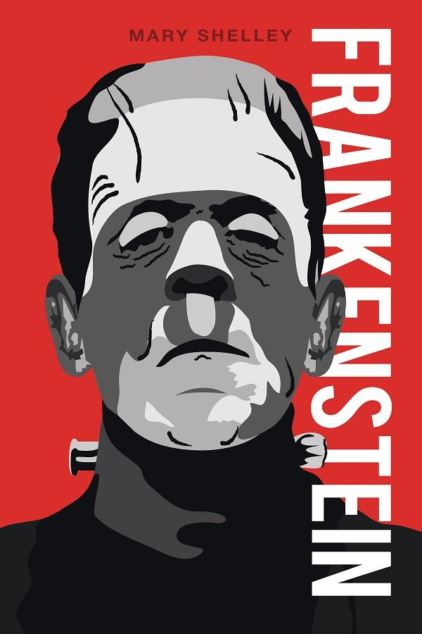 Una delle infinite copertine del romanzo di Mary Shelley - Frankenstein è vivo