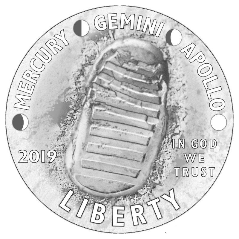 L'impronta umana sulla polvere lunare, destinata a durare - salvo cataclismi stellari - per milioni di anni a causa della mancanza di atmosfera